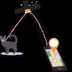 Handy Illustration von Freepikund die Katze wurde auch von Freepik designed